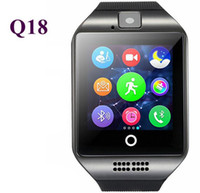 Multinational language spot fitness - Business intelligence watch foreign hot Q18 intelligent phone watch sports Bluetooth card watch factory spot