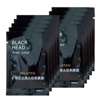 pilaten saugschwarze maske großhandel-PILATEN Suction Black Maske Gesichtspflege Maske Tiefenreinigung Tearing Style Pore Strip Tiefenreinigung Nase Akne Mitesser Gesichtsmaske