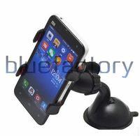universelle zelle mobile großhandel-Universal-360-Grad-Auto-Berg-Halter-Windschutzscheiben-Zelle Handy-Klammer steht Halter für iphone 7 Samsung S7 S6 Handy
