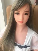 ingrosso bambole gonfiabili di qualità-Bambole reali del sesso del silicone di alta qualità di trasporto libero con il seno grande, bambola realistica di amore, bambola gonfiabile reale giapponese della bambola reale