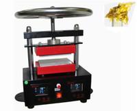 "Wholesale Pressed Plates - rosin heat press Professional Rosin Press Hand Crank Duel Heated Plates (2.4"" x 4.7"" plates) 6x12cm plates LLFA"