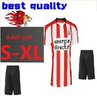 Wholesale Teens Suits - BOYS Rugby 2017 2018 PSV Eindhoven Adult suit Rugby Jerseys H.LOZANO V.GINKEL PEREIRO RAMSELAAR 17 18 set child teens Jersey 10 or more free