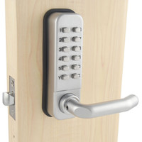 Wholesale Mechanical Door Locks - ML11SP Mechanical Password Door Lock,Deadbolt Code Locks, Color Silvery