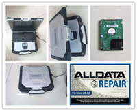Software di riparazione auto alldata 10.53 tutti dati re mitchell ondemand 5.8 + atsg manuali di trasmissione hard disk 1000gb toughbook