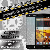 impresión de píxeles al por mayor-Impresión de pantalla plana Protector de pantalla de vidrio templado para ZTE Warp sincronización N9515 Grand X4 ls775 ZMAX PRO píxeles XL con embalaje al por menor