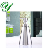 Wholesale Wholesale Shampoo Dispenser - Foaming Hand Soap Dispenser Foam Pump Bottle 310ml Stainless Steel Shampoo Lotion Sanitizer bathroom accessories kitchen hotel supplies