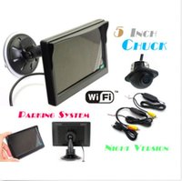 Wholesale Car Rearview Backup System Wireless Waterproof Reversing Camera quot LCD Monitor