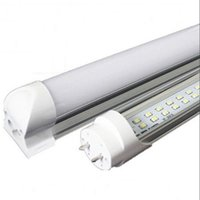 Wholesale Nature Accessories - CREE Integrated T8 Led Tube Light Double Sides 4ft 5ft 6ft 8ft Cooler Lighting Led Lights Tubes sets AC 110-240V With All accessories