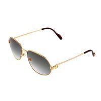 Wholesale Men Beach Sunglasses - New Arrival Sunglasses for Men Brand Designer Women Luxury Metal Frame Gray lens Sunglasses UV Protection sun glasses CT1185212SG