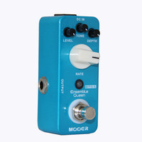 Wholesale Mooer Guitar Pedals - MOOER Ensemble Queen Bass Chorus Pedal True Bypass Guitar effect pedal