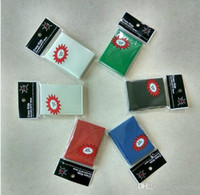 Wholesale Card Game Magic - 65*91mm poke Magic Card Sleeves Deck Protector 50pcs pack High quality 6 colors
