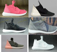 Wholesale Couple W - Tubular Defiant W Y3 Causal Shoes Men Women Black And White Red Best Quality Leisure Shoes Fashion Breathable Leather Couple Shoe Size 36-44