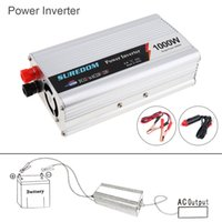 Wholesale portable ac inverter - 1000W DC 12V 24V to AC 220V 110V USB Portable Power Inverter Adapter Charger Universal Voltage Converter Sugar Power 2000W CEC_62N