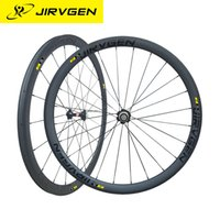 Wholesale Carbon Cycle Race Wheels - 2017 JIRVGEN Toray 700 carbon fiber road bicycle wheels 38 racing carbon wheels with novatec 271 hubs cycling parts