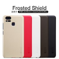 Wholesale Shield Asus - Asus Zenfone 3 Zoom(ZE553KL) case NILLKIN Super Frosted Shield hard back cover case with free screen protector Retail package