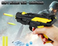 Wholesale Use Toys Wholesale - Creative Children's toys Multi-function Soft gun Dual-use EVA Bullets Water Pistol Wholesale DHL or SF EXPRESS free shipping
