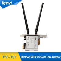 Wholesale Pci Card Size - Wholesale- Fenvi Wireless Network mini PCI-E Card to Desktop PCI-E Adapter Converter + PCI-E Low Profile For intel Broadcom Half size Card