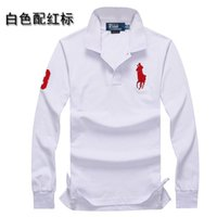 Wholesale Marks Shirts - Ralph and lauren lapel pony brand new brand polo shirt men designer brand polo men short cotton shirt short men's short mark free shipping