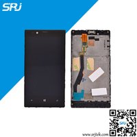 Wholesale Touch Screen Modules - Wholesale-Original 5.3 Inch For Nokia Lumia 720 LCD Display Touch Screen Digitizer Glass Sensor Module Assembly+Frame Repairment Parts