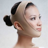 Wholesale wholesale chin - Marketing Facial Slimming Bandage Belt Shape And Lift Reduce Double Chin Face Mask Face Thining Band tanwc
