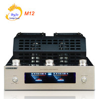 Wholesale Usb Power Tube - M12 HI-FI Bluetooth Tube Amplifier 110V and 220V Support USB SD Card Playback Bluetooth Power amplifier support 220V and 110V
