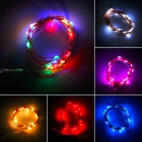 pc operating NZ - Wholesale- ICOCO 1 pc 2017 Newest 2M 20 LEDs Button Battery Operated LED Copper Wire String Fairy Lights Party Blue Colorful Free Shipping