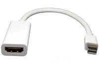 mini ekran ışığı şimşek kablosu toptan satış-100 adet Yüksek Kalite Thunderbolt Mini DisplayPort Ekran Bağlantı Noktası DP için HDMI Adaptörü Kablosu Apple Mac Macbook Pro Hava
