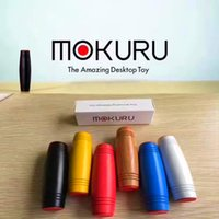 Wholesale Novelty Toys Gag Gifts - 2017 Fidget Rollver Fidget Toys Mokuru Novelty Gag Toys Decompression Toy 9.2*2.5cm Popular Toys 7 Color Christmas Gift