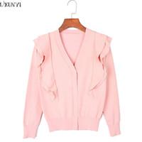 Canada Korean Short Sleeve Pink Cardigan Supply, Korean Short ...