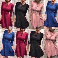Wholesale Dashiki Wear - sexy dress club wear 2017 vestido festa slip dress V collar waist sexy tight bandage dress for women dashiki dresses