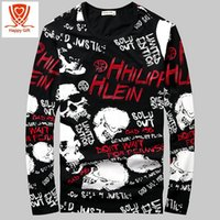 Wholesale Men S Upper - Wholesale- High Quality Spring Autumn Winter Period New Trend Of The Men Cotton Hooded Sweatshirts Lovers unlined upper garment S~ 4 XL