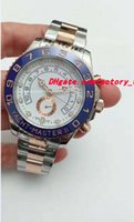 Wholesale ii tone - Luxury Watches Mens II 116681 Two-Tone White Dial 44mm - New Automatic Fashion Brand Men's Watch Wristwatch