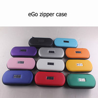 Wholesale Ego Carrying Case Colorful - Electronic Cigarette Vape Carrying Cases Small Medium Big Zipper Case X6 E Cig Colorful Ego Case Start Kit