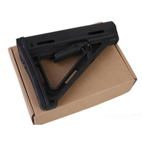 Wholesale Stock For Aeg - High Quality Tactical Plastic Drop-in Replacement Butt Stock Carbine Stock for M4 M16 AEG Series(black)