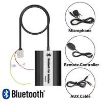 Wholesale nissan maxima car - Bluetooth car kit Hands free phone call A2DP music streaming adapter for 2000-2011 Nissan 350Z Almera Maxima Navara Pathfinder Teana