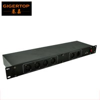 Wholesale voltage circuits for sale - Group buy TIPTOP Stage Light TP D05 DMX Road Way Splitter Voltage Isolation Technology Protection Circuit Port CE ROHS Stage Controller