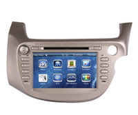 Wholesale Honda Jazz Gps - 2Din Car DVD Player GPS Navigation for Honda Fit   Jazz 2007-2013 with Navigator Radio Bluetooth USB SD AUX Audio Video Stereo
