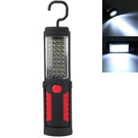 antorcha de batería de mano led al por mayor-Super brillante 36 + 5 LED Luz de trabajo de la antorcha de mano flexible Lámpara de inspección magnética Linterna de la antorcha Alimentado por batería HIK_00R