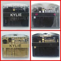 Wholesale Gift Tool Kits - HOT NEW Kylie cosmetics Brushes Set 12 pieces Makeup Tools Makeup Brushes 4 style Free shipping+GIFT