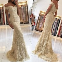 Wholesale winter special occasion dresses for sale - Latest V neck Cap Sleeve Mermaid Evening Dresses Sweep Train Tulle Lace Formal Evening Gowns Prom Dresses Special Occasion Dresses