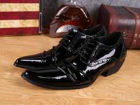 Wholesale Noir Dress - 2017 homme chaussures en cuir D'affaires de chaussures en cuir de costume homme chaussures Beau Noir