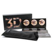 Wholesale Highest Quality Makeup - High quality 1030 3D Fiber Lashes Plus MASCARA Set Makeup lash eyelash double mascara Free shipping 48pcs=24sets
