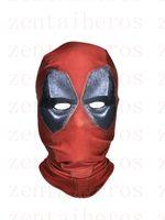 Wholesale deadpool movie costume for sale - 3D Printed Deadpool Mask Hood