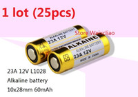 Wholesale batteries 23a for sale - Group buy 25pcs A V A12V V23A L1028 dry alkaline battery Volt Batteries