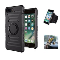 Wholesale Port Arm - Sport Arm Band Case For iPhone 7 6 6s Plus 5 SE Outdoor Running Gym Phone Cover For Samsung Galaxy S8 Plus S7 Edge port Arm Band Case