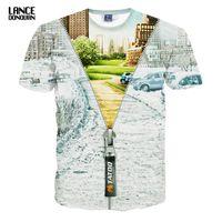 Wholesale Top Men Models - Wholesale- Hight Quality T shirt 3D Men Fashion 2016 Summer Short Sleeves Both Sides Print many models Man TOP TEES O neck