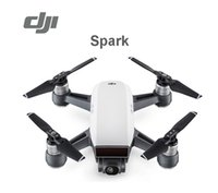 Wholesale Aerial Film - DJI Spark Mini Camera Drones Combo Simple Control Aircrafts GPS Aerial Filming sUAV Quadcopters Multicopters Helicopter Toy Gift