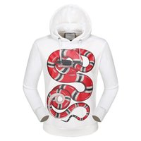 Wholesale Luxury Brand Designer hoodies for men women Italy Fashion Snake Donald Duck Tiger Print Men s Hoodies Sweatshirts Palace mens jackets