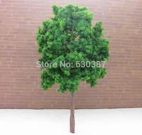 Wholesale Plastic Trees Model - Wholesale- D11054 Scale Train Layout Set Model Trees HO 11cm