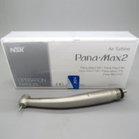 Wholesale Dental High Speed Handpiece Midwest - High Quality NSK Pana Max2 Dental High Speed Handpiece Clean Head Push Midwest 4Holes Ceramic JAPAN